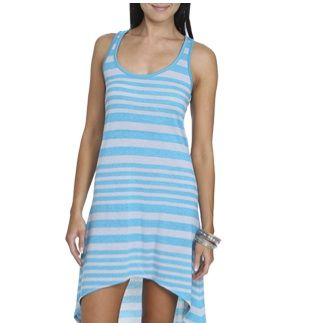 """<p>Summer time is all about the dresses. You can wear one all day and not worry about needing to change because it'll still be hot! You can go short, assymetrical, maxi&#x3B; regardless you'll be in a dress and free.</p><p>$10, <a title=""""Dress"""" href=""""http://www.wetseal.com/catalog/product.jsp?categoryId=104&productId=66571&color=JADE&altImageId=2%20"""" target=""""_blank"""">Wet Seal</a></p>"""