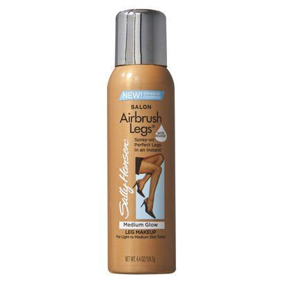 "<p>Sally Hansen has developed a tanner that's like makeup for your legs (perfect if you suffer from scars).  We love this spray on bronzer that leaves legs free of streaks post application making them look flawless. If you're planning on going for a dip, this product is great because it is water resistant.</p> <p>$12.99,<a href=""http://www.ulta.com/ulta/browse/productDetail.jsp?productId=xlsImpprod2870017"" target=""_blank""> ulta.com</a></p>"