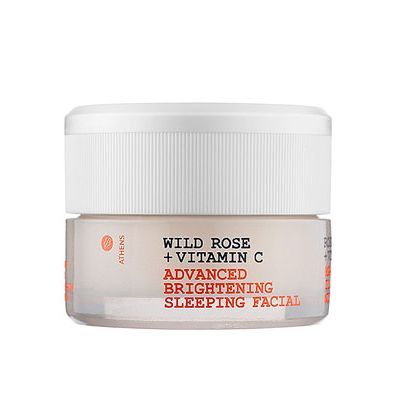<p>Weightless souflée. This overnight facial-in-a-jar is a breakthrough in beauty sleep. More than a mask, more than a night cream, it contains the Korres Phos Compound, a proprietary blend including a brightening agent and stabilized vitamin C. Day after day, week after week, uneven tone and dark spots will continuously improve. After only 14 days you'll see skin that's brighter, more even-toned, and exceptionally radiant.</p>