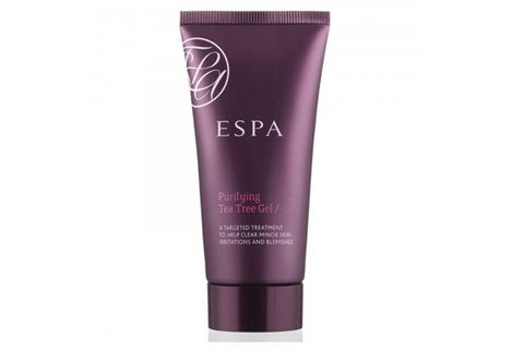"""<p>Red, irritated skin around your cha-cha can ruin your pool party look. Soothe your bikini area with this anti-bacterial purifying gel -- it calms inflammation with antiseptic evening primrose, thyme, and tea tree oil.</p> <p>Espa Purifying Tea Tree Gel, $37, <a href=""""http://us.espaonline.com/skincare/face/products/skin-rescue/purifying-tea-tree-gel#.UcC5B5WpdUQ"""" target=""""_blank"""">us.espaonline.com</a></p>"""