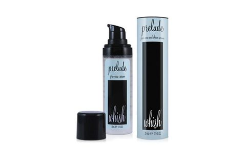 """<p>Before shaving or waxing, slather this multi-tasking gel all over the area – it's spiked with menthol to numb skin, cedarwood to remove impurities, and aloe to fight irritation. A must.</p> <p>Whish Prelude Pre-Wax and Shave Serum, $20, <a href=""""http://www.dermstore.com/product_Prelude+Pre-Wax+and+Shave+Serum_38740.htm"""" target=""""_blank"""">dermstore.com</a></p>"""
