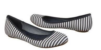 """<p>Get nautical this summer with this navy stripe flat. This flat is made by Dr. Scholl's which means you won't have to worry about whether they're comfy or not. Easy enough to carry in your tote and perfect for your warm stroll home.</p> <p>$64.99, <a title=""""Dr. Scholl's"""" href=""""http://www.drschollsshoes.com/en-US/Product/28174-5204619/Dr.+Scholls/Navy_White+Stripe/Womens+Friendly.aspx"""" target=""""_blank"""">Dr. Scholl's</a> </p>"""