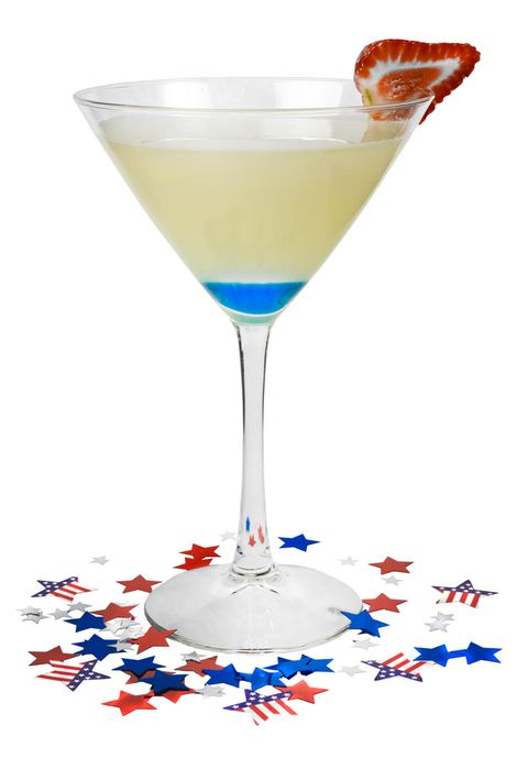 "<p>Created by Beam's Master Mixologist Bobby ""G."" Gleaso</p> <p>2 parts Jim Beam® Honey</p> <p>1 part Blue Curacao</p> <p>2 parts White Cranberry Juice </p> <p>Juice of one half lime</p> <p>Preparation:</p> <p>Shake all but the Curacao and strain into a chilled cocktail glass. Slowly pour the Curacao against the inside of the glass so that it sinks to the bottom. Garnish with a lime wheel on the rim.</p>"
