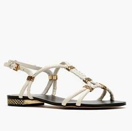 """<p>Dolce Vita gives us the right amount of glamour and edgy with this pair of white sandals.</p><p> </p><p>$67.50, <a href=""""http://www.nastygal.com/product/dakari-sandal-bone"""" target=""""_blank"""">Nasty Gal</a></p>"""