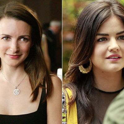 While Selena Gomez was rumored to have piqued <i>The Carrie Diaries'</i> casting director's attention back in 2011, we'd actually go with Lucy Hale. Best known as Aria from <i>Pretty Little Liars</i>, Hale also angled for the part of Ana in the <i>50 Shades</i> movie, displaying a hidden sensual side underneath her girl-next-door persona. Just like Char, that time she told the puckered-up sorority sisters of Kappa Kappa Grandma that she just wanted to get f*cked. Holla.