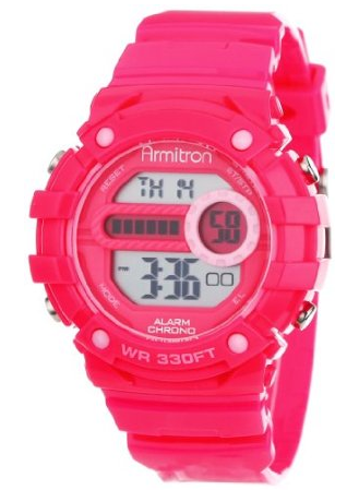Product, Watch, Red, Pink, Technology, Electronic device, Magenta, Fashion accessory, Watch accessory, Font,