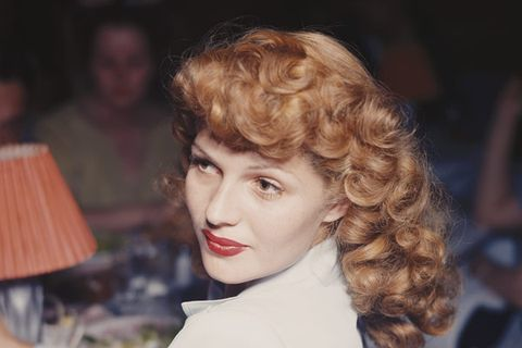 Curled and twirled into flawless pouf of fabulosity, Hayworth's bangs gave WW2-era soldiers something to fight for.