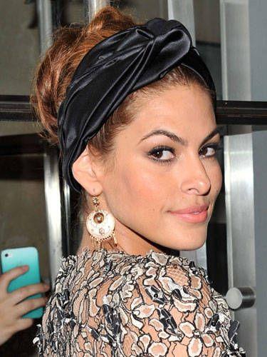 How To Wrap a Turban - How To Wear a Silk Hair Turban