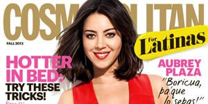 <p>Part Puerto Rican actress and comedian Aubrey Plaza is our fall cover girl! Click through to get a sneak peek of her best quotes from our interview. </p> <p> </p> <p> </p> <p> </p> <p>Photography: Justin Stephens</p> <p>Dress: Alice Roi</p> <p>Earrings: EF Collection</p> <p>Ring: Jennifer Fischer </p>