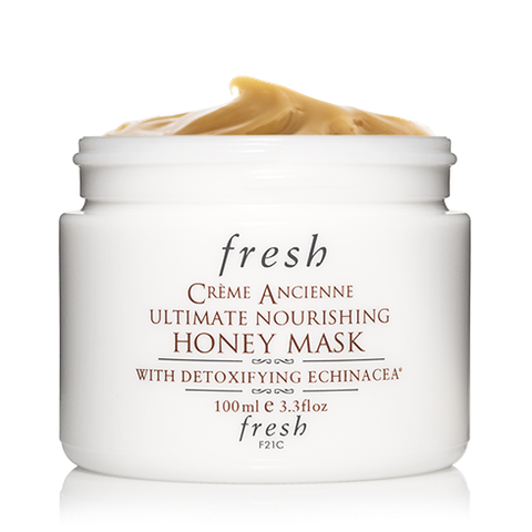 "<p>If your skin needs a moisturizing boost after a long hot summer, reach for this mask. It literally melts into your skin, drenching it in soothing hydration.</p> <p>$130, <a href=""http://www.fresh.com/mask/cr%C3%A8me-ancienne-ultimate-nourishing-honey-mask/H00002668.html"">Fresh</a></p>"
