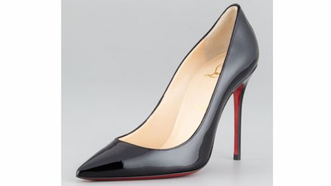 """<p>When it comes to work and shoes it's probably best to stick to the neutrals. A simple nude or black in either a closed or peep-toe will do the trick. The difficult part comes when picking the right pair.</p> <p>For daily use go with something basic like these by <a title=""""Steven """" href=""""http://www.neimanmarcus.com/p/Steven-Mikka-Patent-Point-Toe-Pump-Black/prod160170094___/?icid=&searchType=MAIN&rte=%252Fcategory.service%253FNtt%253Dblack%252Bpump%2526pageSize%253D30%2526No%253D0%2526Ns%253DMAX_PROMO_PRICE%2526refinements%253D&eItemId=prod160170094&cmCat=search%20"""" target=""""_blank"""">Steve Madden</a> but for those special days like interviews and big meetings rock a pair of killer heels like these Louboutin's. They may be a little steep but you'll feel amazing every time you wear them and what better feeling than to look hot and know you did it on your own!</p> <p>$625, <a title=""""Louboutins"""" href=""""http://www.neimanmarcus.com/p/Christian-Louboutin-Decollete-Patent-Leather-Stiletto-Red-Sole-Pump/prod147340162_cat39620738__/?icid=&searchType=EndecaDrivenCat&rte=%252Fcategory.service%253FitemId%253Dcat39620738%2526pageSize%253D30%2526No%253D0%2526Ns%253DMAX_PROMO_PRICE%2526refinements%253D&eItemId=prod147340162&cmCat=product%20"""" target=""""_blank"""">Neiman Marcus</a>.</p> <p> </p>"""