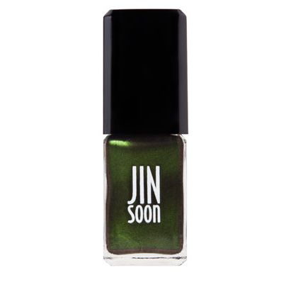 <p>This steely gray morphs into a bewitching emerald when it catches the light. Wickedly mesmerizing.</p>