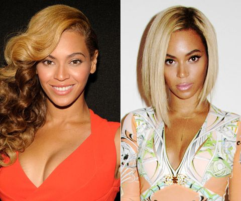 <p>Queen Bey recently debuted this precise, angled bob on her IG page. It took us a minute, but now we&#146;re all clamoring for the scissors. Out-of-control chic.</p>