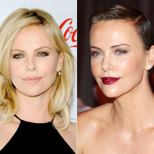 <p>The actress went from beautiful (if a bit expected) blonde to unabashedly ravishing with her one-inch long, little boy cut. That neck! Those cheekbones!</p>
