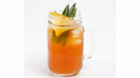 <p>To create the Captain Palmer fist create Southern Tea Punch and add ingredients.</p> <p><strong>SOUTHERN TEA PUNCH</strong><br />750 mL bottle Hennessy V.S<br />1 cup Grand Marnier<br />1 cup Fresh Squeezed Lemon Juice<br />1 cup Simple Syrup<br />4 oz Drysack Sherry<br />2 quarts Iced Tea<br />3 oz Peach Schnapps</p> <p><br />GARNISH: Lemon, and Orange Wheels with Peach Slices<br />METHOD: Add all ingredients to a large punch bowl with 1 large ice block, allow to chill and serve.</p> <p><strong>CAPTAIN PALMER</strong><br />DIRECTIONS: Sweeten with one tablespoon agave, or sweetener of choice and ½ ounce of orange juice.<br />Garnish with an orange. Shake and pour into martini glass or pour it over ice in a rocks glass.</p> <p> </p>