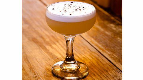 <div>by Camille Austin</div> <div> </div> <div>2 oz. Pisco Control C</div> <div>.75 oz. Combier Pamplemousse</div> <div>.75 oz. grapefruit juice (fresh)</div> <div>.25 oz. lime juice (fresh)</div> <div>.25 oz. simple syrup</div> <div>1 egg white (pasteurized)</div> <div> </div> <div>Method: Shake with 1 grapefruit zest for added spice, double strain</div> <div>Glass: Coupe</div> <div>Garnish: Multicolor pansy, cracked black pepper </div>