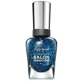"<p>The commitment to the color lasts only as long as you want it to. Try: <a href=""http://www.cvs.com/shop/product-detail/Sally-Hansen-Complete-Salon-Manicure-Nail-Color-Mermaids-Tale?skuId=914118"">Sally Hansen Complete Salon Manicure in Mermaid's Tale</a>, $7.99.</p>"