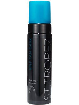 """<p><strong></strong>Chained to your desk all summer and longing for that golden glow? Fake it with the new <a href=""""http://www.sttropeztan.com/self-tan-dark-mousse"""">St. Tropez Dark Bronzing Mousse</a>, $44. <strong> </strong>Because it's a mousse, the thicker formula also works to smooth over any unevenness or tan lines for those of you who were lucky enough to hit the playa regularly, but weren't so diligent with your SPF.</p>"""