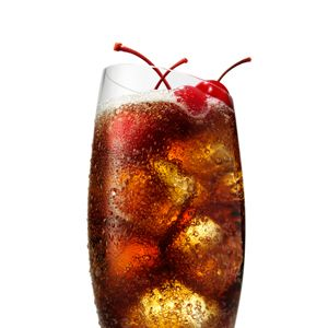 2 oz. SVEDKA Cherry<br>1 oz. Diet Coke<br>Garnish: cherry<br><i>Combine all ingredients in a glass filled with ice. Stir and garnish with a cherry.</i><br><br>Source: SVEDKA