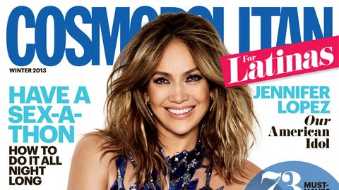 <p>The one and only Jlo is our winter 2013 cover girl! Flip through for her best quotes and behind-the-scenes snaps. For more, read the interview on p. 80 of the issue, on newsstands Oct. 29!</p> <p> </p> <p>Dress: Julien MacDonald; Earrings: Jack Vartanian; Ring: Djula; Shoes: Dior</p> <p> </p> <p>Check out p. 6 of our issue to get Jenny's look!!</p>