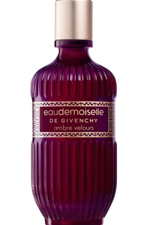 """<p>Notes like rose, patchouli and amber make this scent unforgettable.</p> <p>$122, <a href=""""http://www.neimanmarcus.com/Givenchy-Eaudemoiselle-Ambre-Velours/prod162400269/p.prod"""" target=""""_blank"""">Neiman Marcus</a></p>"""