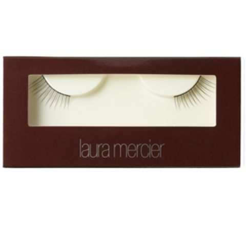 "<p>For a flirty daytime look, reach for the <a href=""http://www.lauramercier.com/store/shop/Faux%20Eyelashes_Corner%20Faux%20Eyelashes_prod230037"" target=""_blank"">Laura Mercier Corner Faux Eyelashes</a>, $18. They give you an instant cat eye and will look natural over sangria and omelets. </p>"