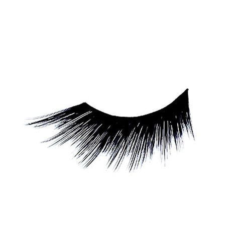 "<p>Create insta-bedroom eyes with a full sweep of long and thick eye lashes like these <a href=""http://www.sephora.com/false-eye-lashes-P241723?skuId=1194968"" target=""_blank"">Illamsqua False Eye Lashes</a> in Medium Length, $15.</p>"