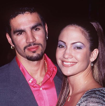 <p>April 1996 - January 1998</p><p>Ojani Noa and La Lopez were hot and heavy as her career began to take off. </p>