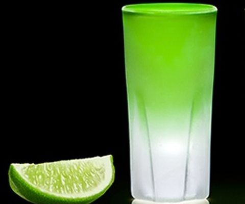 """<p>Literally meaning """"<em>Water from Bolivia,</em>"""" AGWA (30% ABV) is celebrated globally and is recognized as the """"<em>world's original coca leaf liqueur</em>."""" </p> <p><strong>The Devil's Kiss</strong></p> <p>AGWA and a Lime Wedge</p> <p><em>Bite into lime wedge before enjoying the frozen shot</em></p>"""