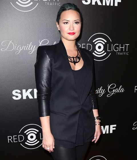 <p>Demi Lovato</p><p>Proof that true beauty comes from within. No matter what hair color she's into it'll look amazing. </p>