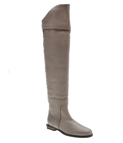 """<p>Gray is the new black <em>chicas</em>! These boots are an absolute beauty, the style, shape and color are just perfection.</p> <p><a href=""""http://www.farfetch.com/shopping/women/maiyet-over-the-knee-boot-item-10507089.aspx?gclid=CM6RvK_ElboCFeZcMgoddkMA_A&country=216"""" target=""""_blank""""> FarFetch.com</a></p> <p> </p> <p><a href=""""http://www.farfetch.com/shopping/women/maiyet-over-the-knee-boot-item-10507089.aspx?gclid=CM6RvK_ElboCFeZcMgoddkMA_A&country=216""""><br /></a></p>"""
