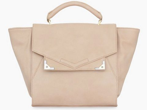 """<p>Jaida Satchel</p><p>Danielle Nicole bags were sported all over Fashion Week. They photograph great and look super luxurious. The best part is the price point that really can't be beat.</p><p>$98, <a title=""""Danielle Nicole"""" href=""""http://danielle-nicole.myshopify.com/collections/danielle-nicole/products/jaida-satchel%20"""" target=""""_blank"""">Danielle Nicole</a>.</p>"""