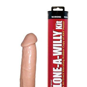 "<div>This <a href=""http://www.cloneawilly.com/"" target=""_blank"">Clone-a-Willy</a> is an ideal solution for when you want to get it on and your man is out of town. But will this toy render your guy jealous of the mold of his own ween if you end up preferring it to the real thing? Only time will tell. </div>"