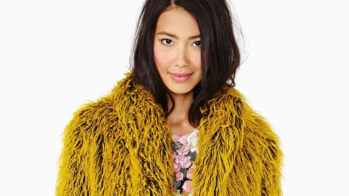 12 Fun and Colorful Faux Fur Coats