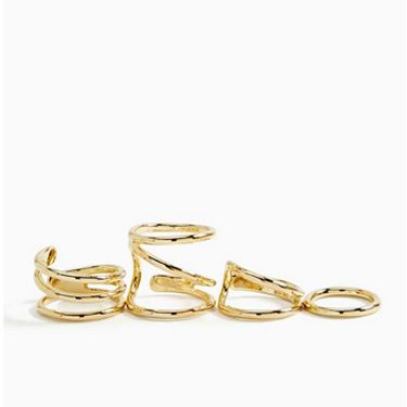 "<b>It's A Wrap Ring Set</b>, $24, <a href=""http://www.nastygal.com/accessories-jewelry-rings/its-a-wrap-ring-set""target=""_blank"">nastygal.com</a>"