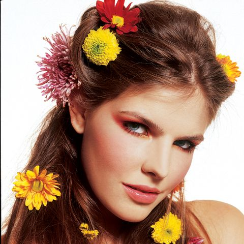 "<p>""Flowers in my hair"" - Ruth</p>"