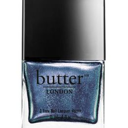 "<p><b>Petrol Overcoat</b>, $15, <a href=""http://www.butterlondon.com/Collections/Holiday-2013_2/Petrol-Overcoat.html""target=""_blank"">butterlondon.com</a></p>