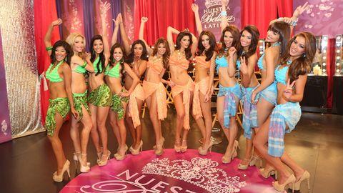 Pink, Abdomen, Thigh, Fashion, Youth, Beauty, Trunk, Waist, Model, Navel,