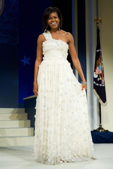 Clothing, Dress, Shoulder, Textile, Gown, Formal wear, One-piece garment, Fashion, Bridal clothing, Wedding dress,