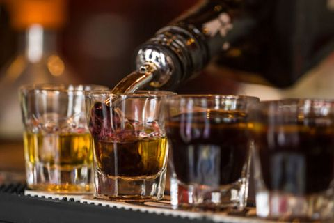Drink, Alcohol, Alcoholic beverage, Fluid, Drinkware, Barware, Liquid, Tableware, Bottle, Distilled beverage,