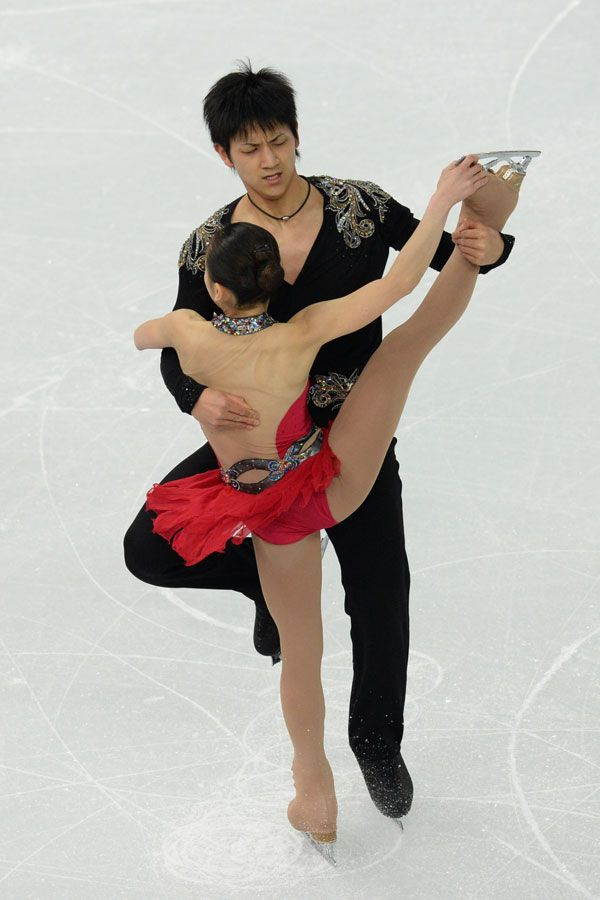 Figure skater and sexy