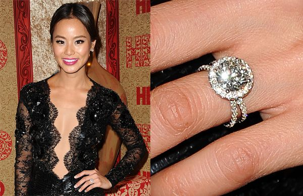 stunning celebrity engagement rings biggest and best engagement rings ever - Celebrity Wedding Rings