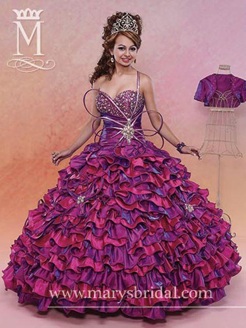 416362f712 Ugly Quinceanera Dresses - Tacky Quince Dresses