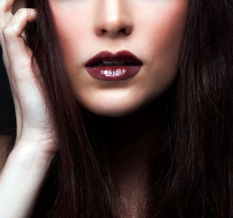 8dcbebd64f18a How to Wear Dark Lipstick - 7 Absolutely Essential Tips For Pulling ...