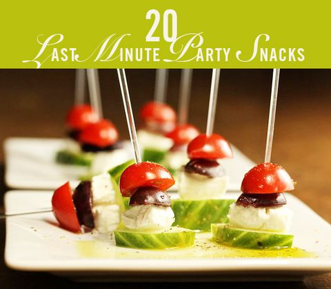 20 Ultimate Last Minute Party Snacks