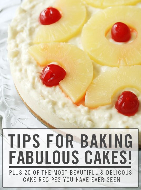 20 Impossibly Fabulous Cakes