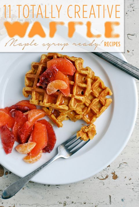 11 Creative Waffles to Make Weekends Even Better - Delicious