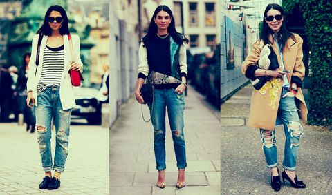 456a8e594ee The Ultimate Guide to Boyfriend Jeans - How to Style Slouchy Jeans