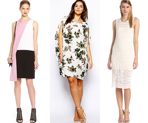 How to wear white to someone elses wedding tips for wearing pink white and black dress dkny 335 floral dress asos curve 50 white tank dress bcbgeneration 68 junglespirit Image collections