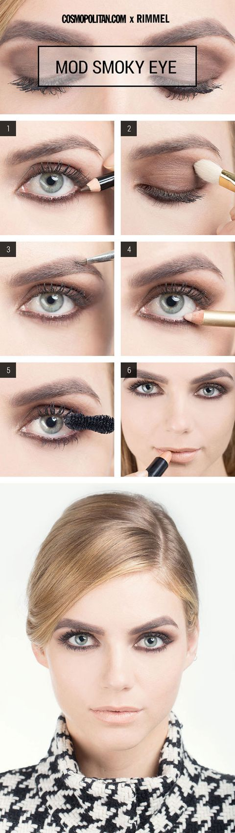 Sexy eye makeup looks sexy eye makeup how tos this 60s inspired mod eyeshadow says come hither basically you wont go unnoticed after following along with this tutorial baditri Choice Image